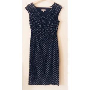 Laura Lil' Black Polka Dot Dress